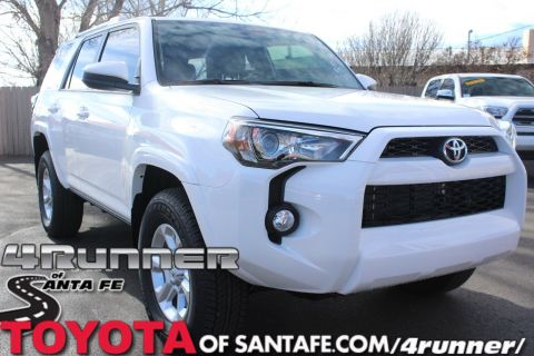 New 2018 Toyota 4Runner SR5 With Navigation & 4WD