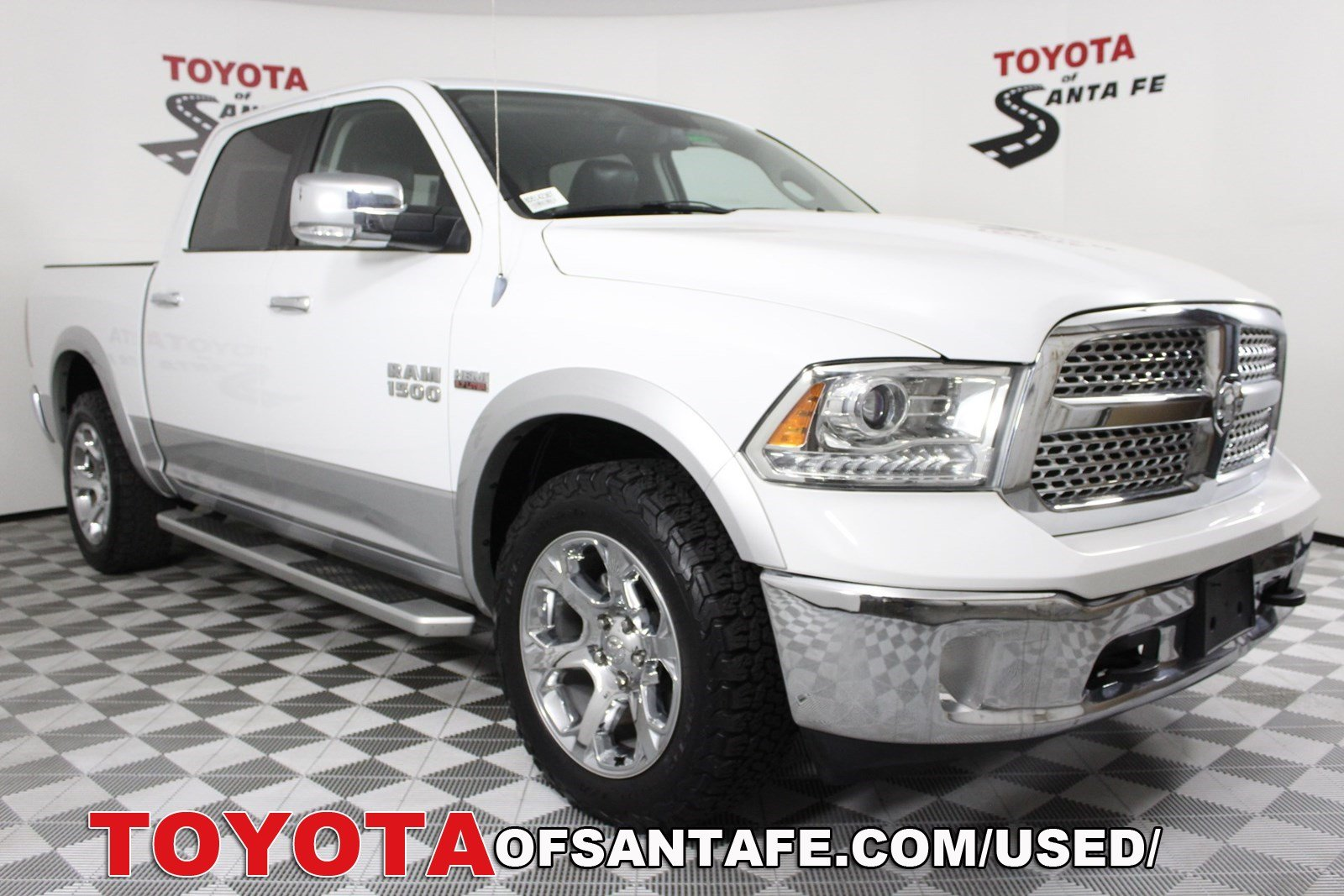 Pre-Owned 2013 Ram 1500 Laramie With Navigation & 4WD  8D514236T