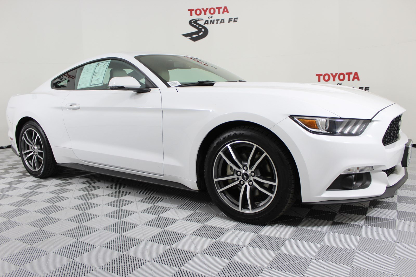 Pre owned 2015 ford mustang ecoboost