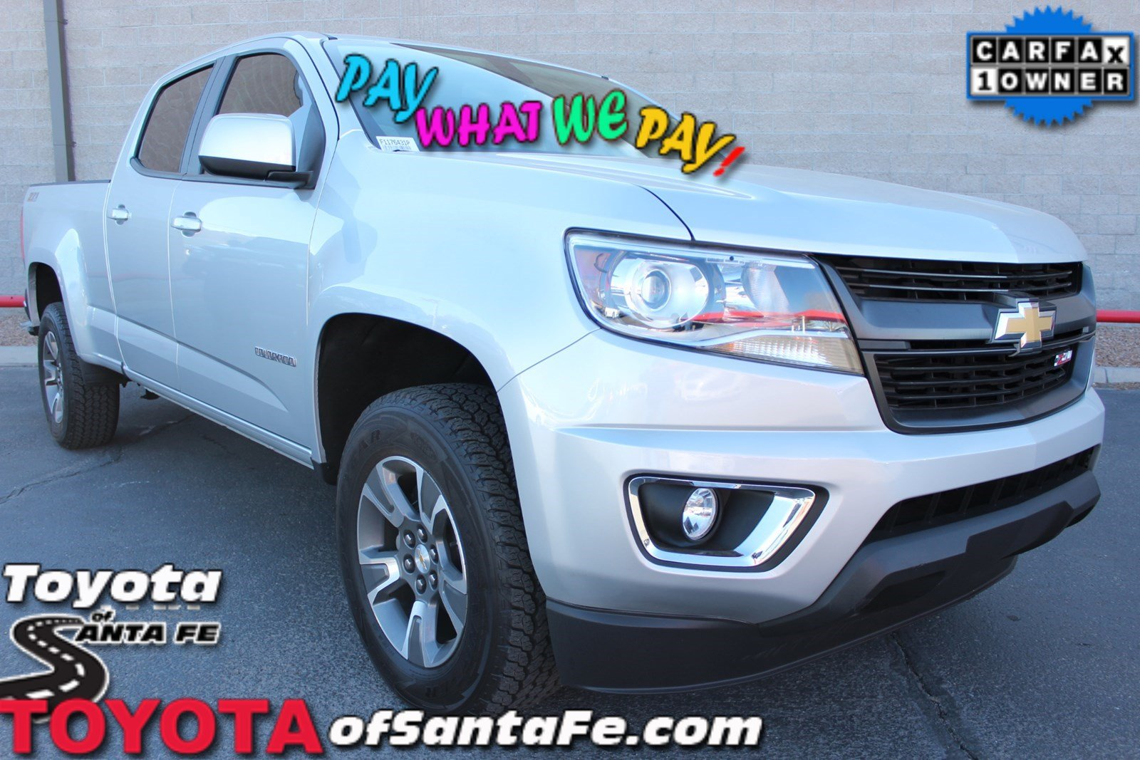 Pre-Owned 2015 Chevrolet Colorado 4WD Z71 With Navigation & 4WD #F1176431P