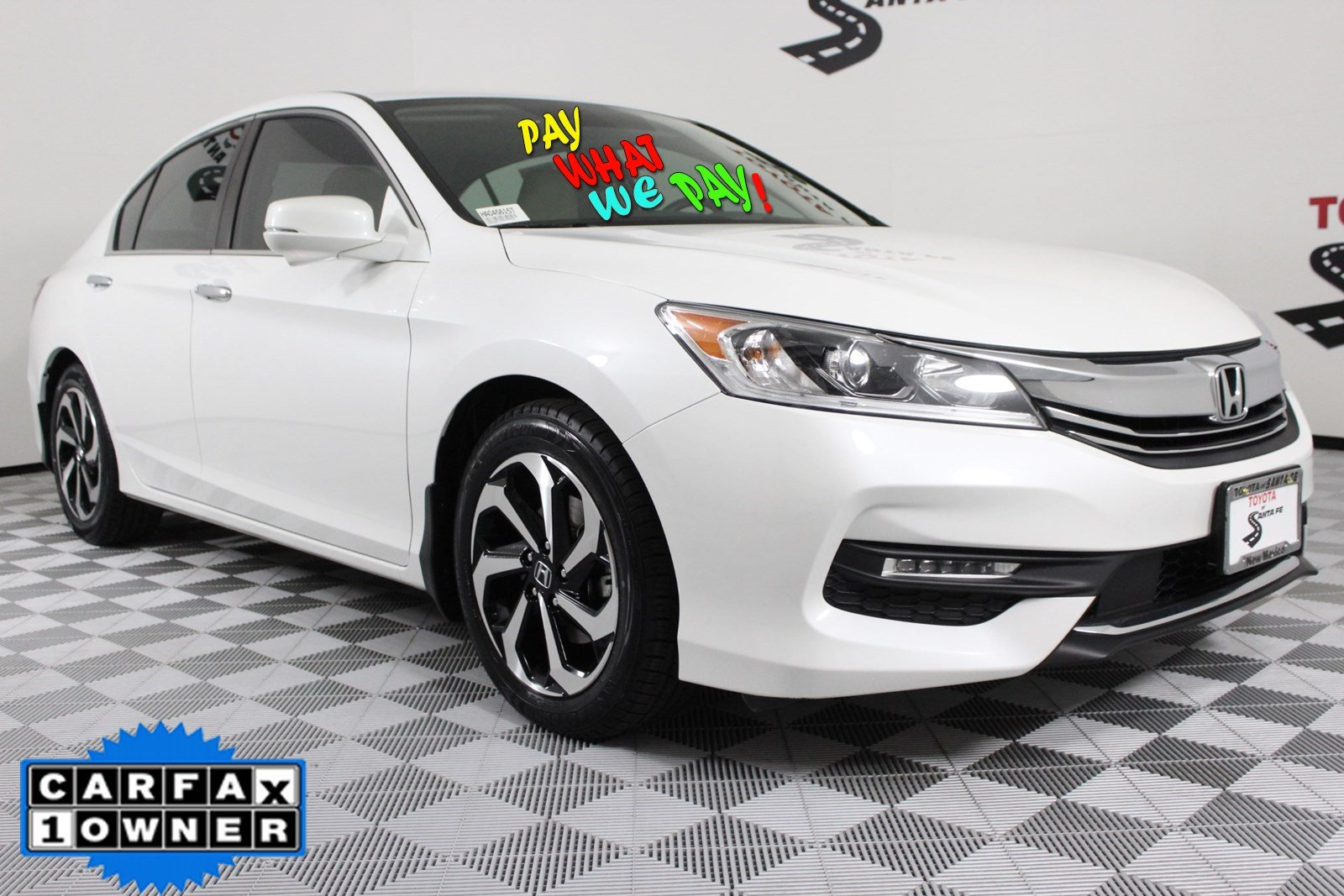 Pre-Owned 2017 Honda Accord Sedan EX FWD Sedan