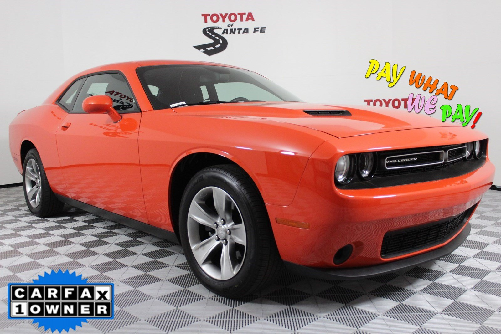 Pre-Owned 2018 Dodge Challenger SXT RWD Coupe  JH317746P