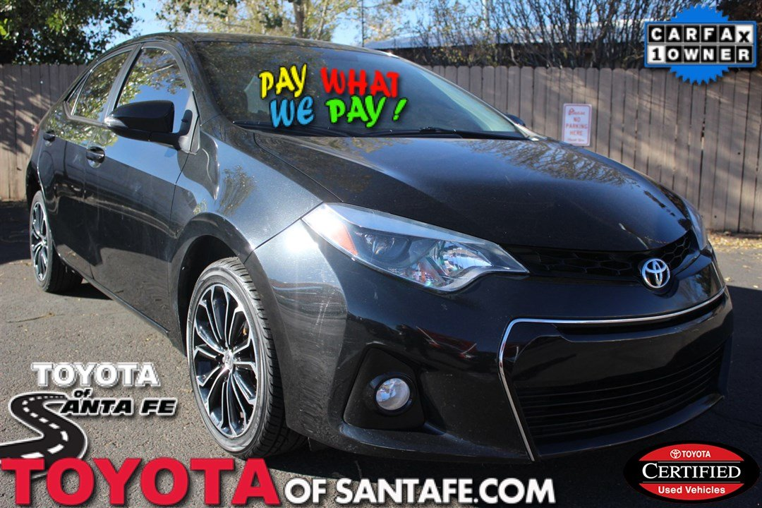 Certified Pre-Owned 2015 Toyota Corolla S Plus FWD Sedan #FC236785P