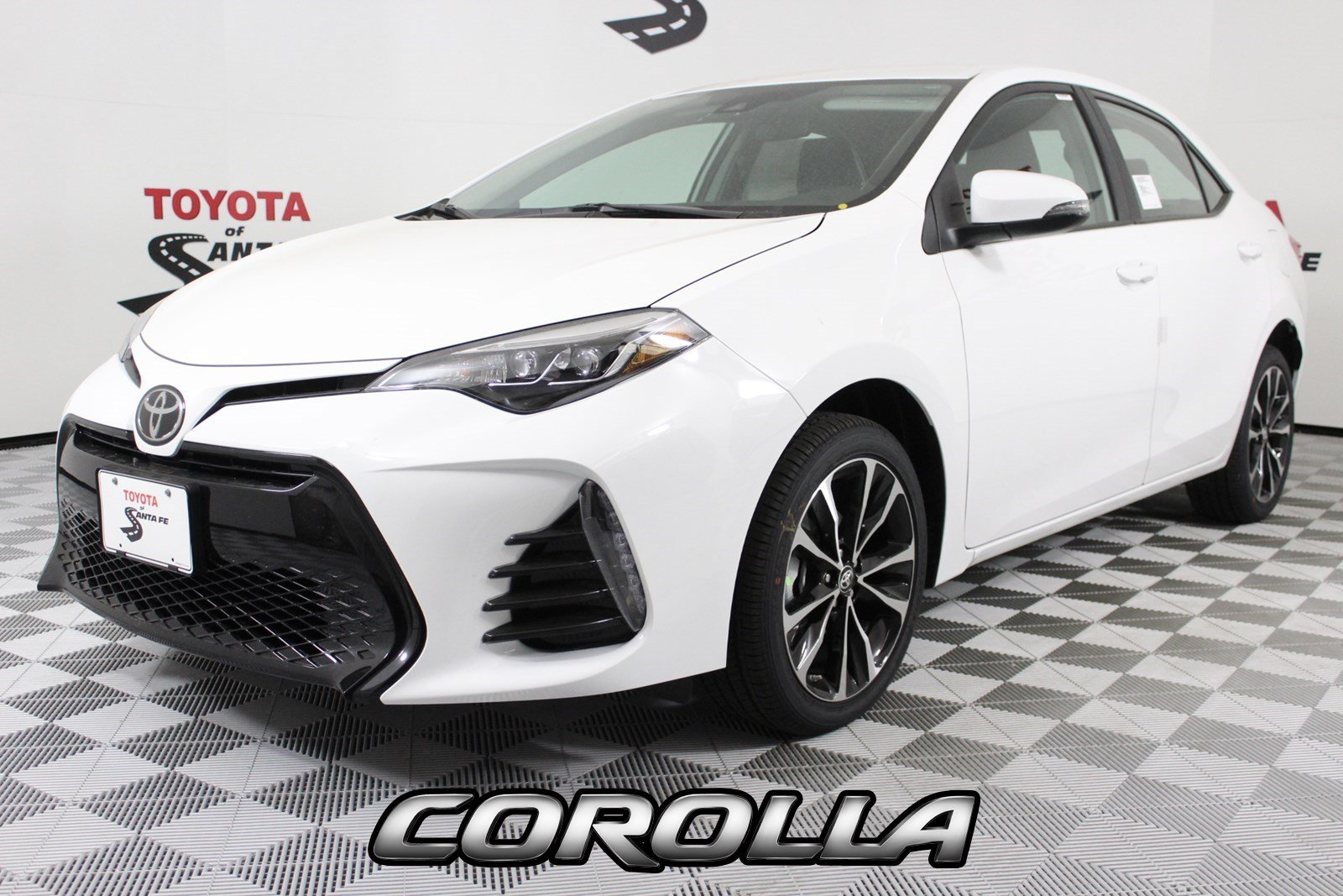 New 2019 Toyota Corolla Se In Santa Fe Kc194294d Toyota Of Santa Fe