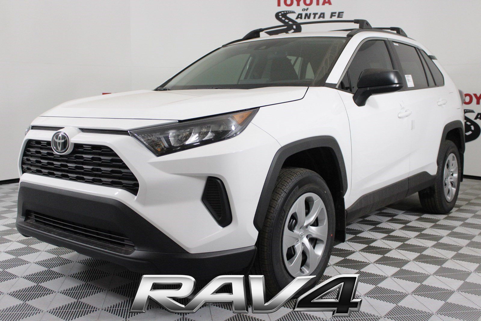 New 2019 Toyota Rav4 Le In Santa Fe Kw004012 Toyota Of Santa Fe