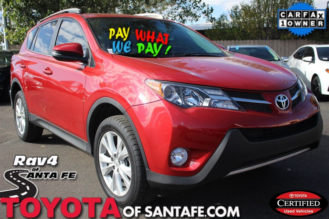 Certified Pre-Owned 2014 Toyota RAV4 Limited With Navigation