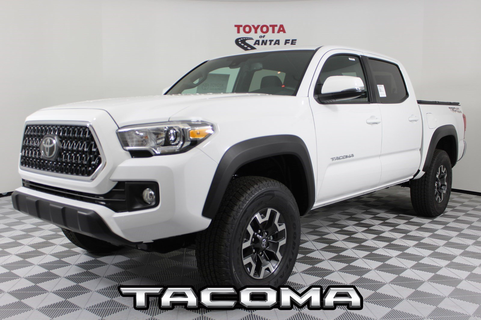 New 2019 Toyota Tacoma Trd Off Road Double Cab 5 Bed V6 At In Santa