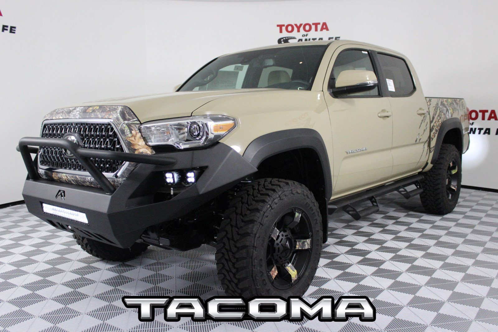 New 2018 Toyota Tacoma Trd Off Road Double Cab 5 Bed V6 4x4 At In Santa Fe Jm184348 Of