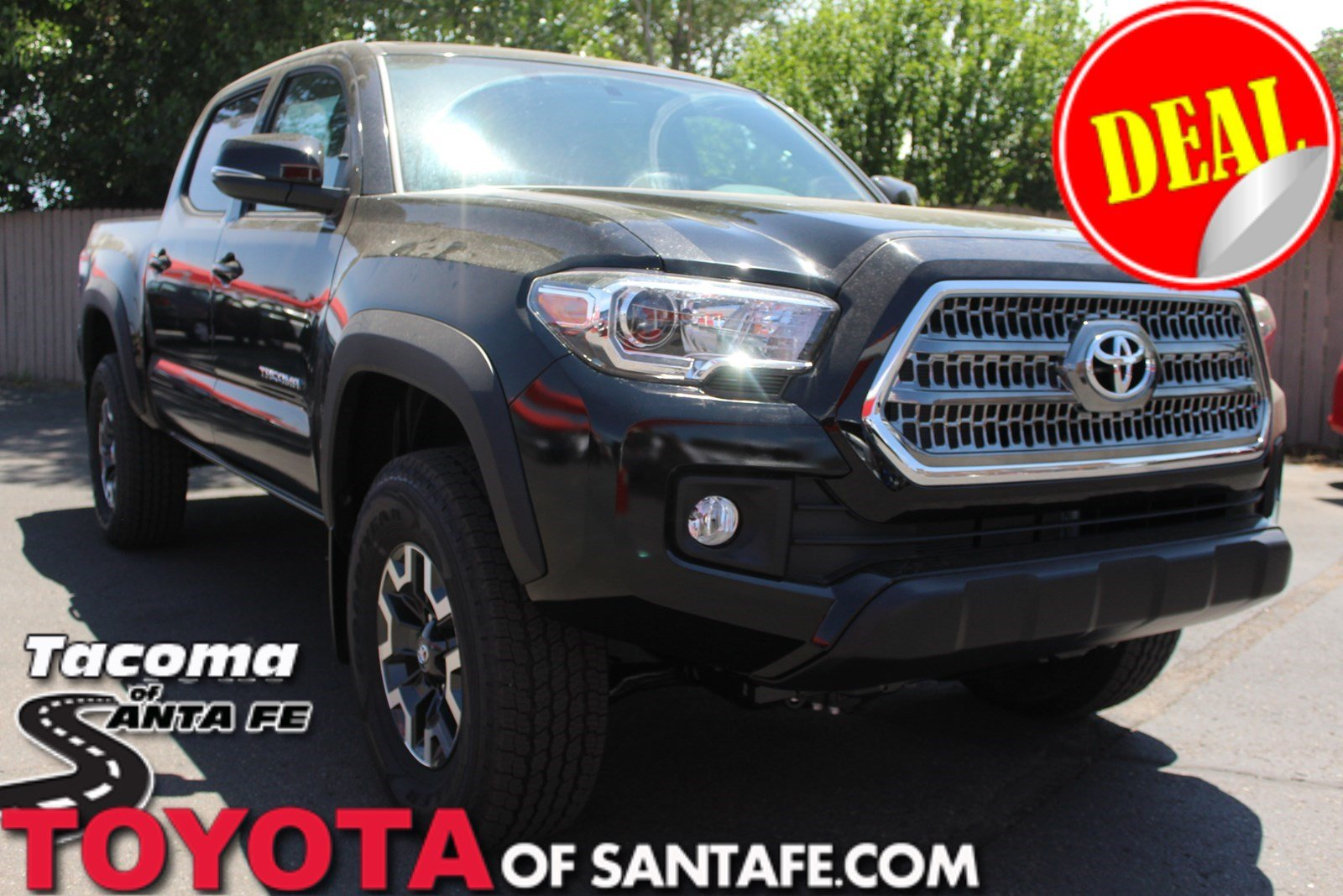 New 2017 Toyota Tacoma TRD Off Road Double Cab 5' Bed V6 4x4 AT Double Cab Truck