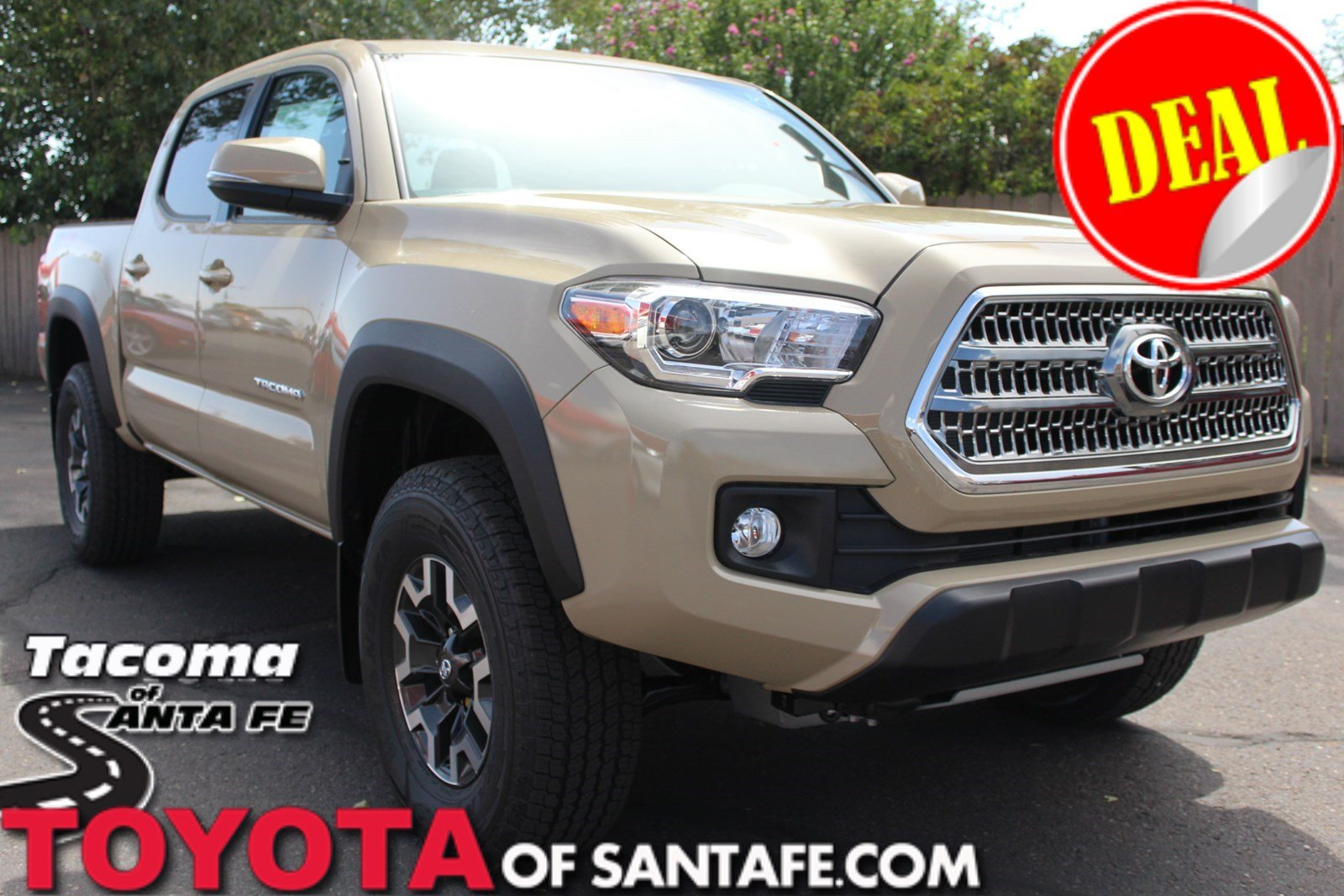New 2017 Toyota Tacoma TRD Off Road Double Cab 5' Bed V6 4x4 AT Double Cab