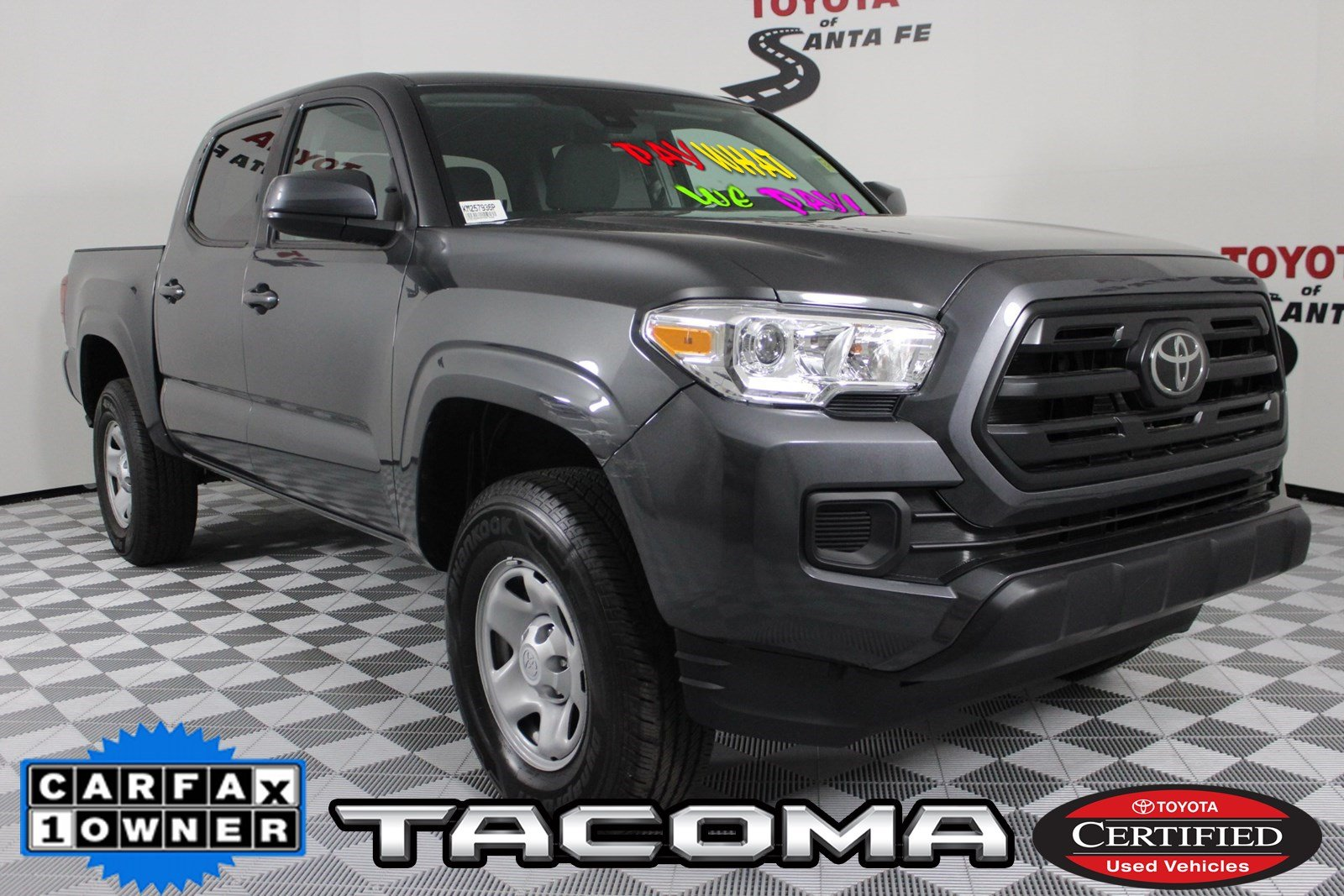 Certified Pre-Owned 2019 Toyota Tacoma SR 4WD  KM257936P