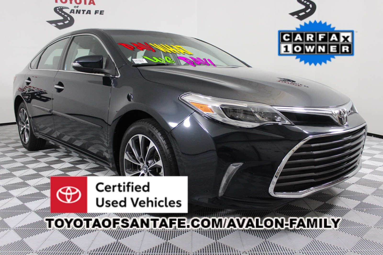 Certified Pre-Owned 2016 Toyota Avalon XLE FWD Sedan  GU233563P