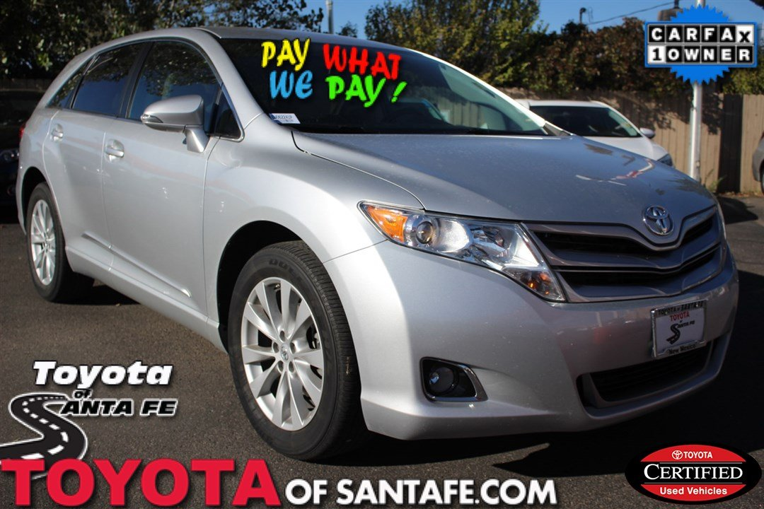 Certified Pre-Owned 2014 Toyota Venza LE AWD