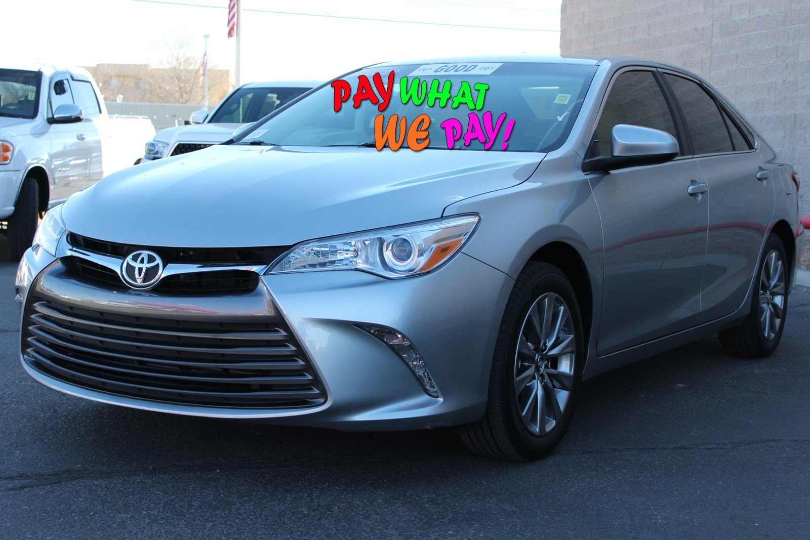 Certified Pre-Owned 2016 Toyota Camry XLE With Navigation GR562647P