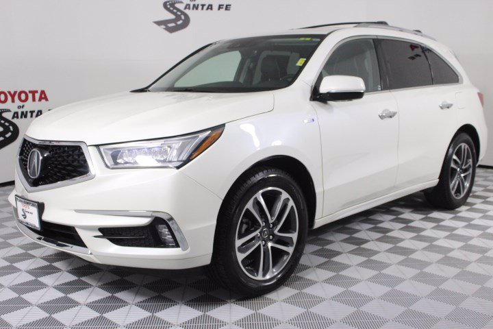 Pre-Owned 2017 Acura MDX Sport Hybrid w/Advance Pkg
