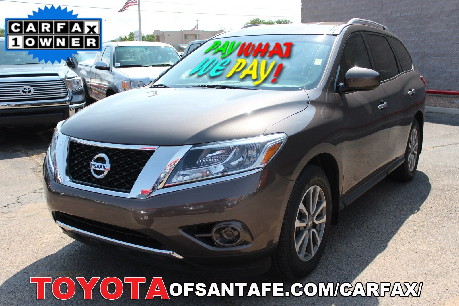Pre-Owned 2015 Nissan Pathfinder S FWD Sport Utility Vehicle