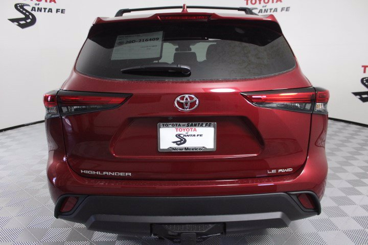 New 2020 Toyota Highlander LE AWD