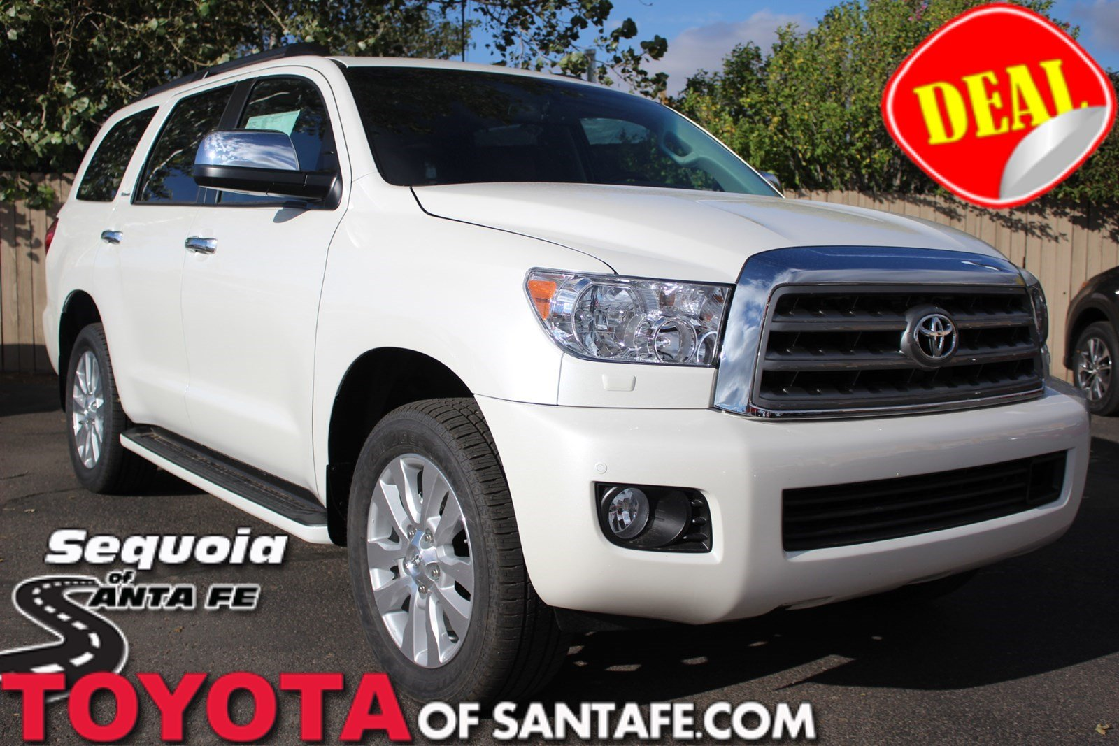 New 2017 Toyota Sequoia Platinum With Navigation & 4WD