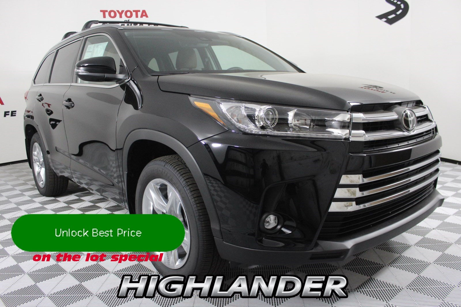 New 2019 Toyota Highlander Limited V6 AWD