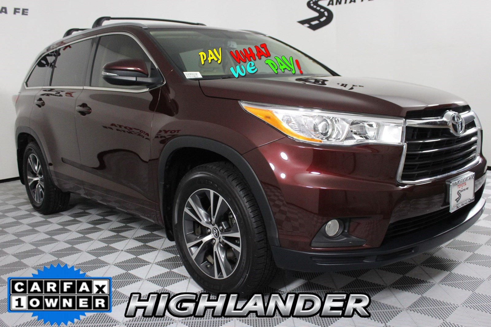Pre-Owned 2016 Toyota Highlander XLE AWD GS295933P
