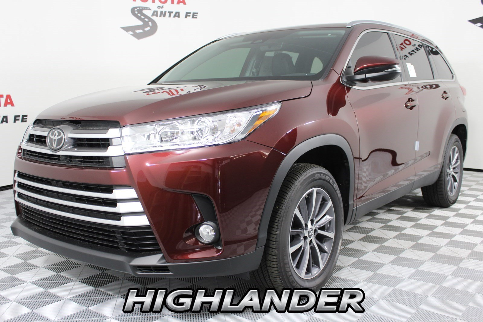 New 2019 Toyota Highlander Xle V6 Fwd With Navigation Trailer Wiring Harness