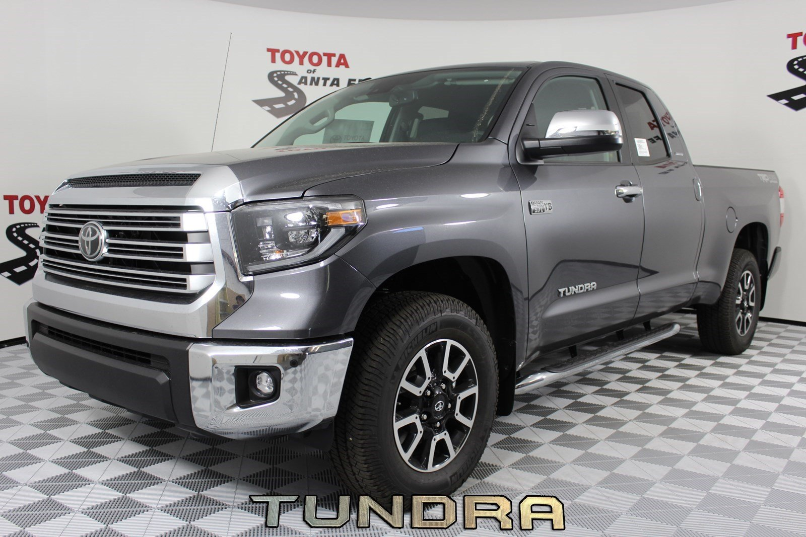 New 2019 Toyota Tundra Limited Double Cab 6 5 Bed 5 7l In Santa Fe