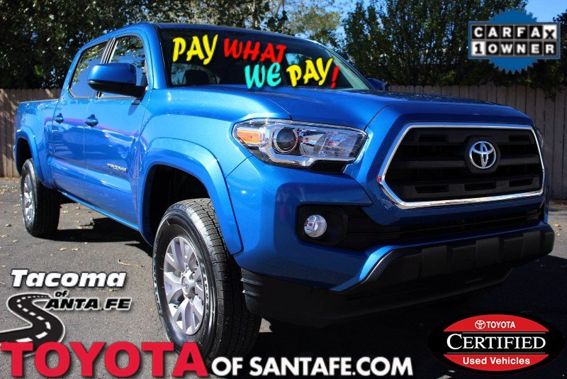 Certified Pre-Owned 2016 Toyota Tacoma SR5 Double Cab