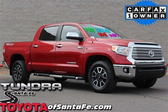 Pre-Owned 2014 Toyota Tundra LTD With Navigation & 4WD EX362476T