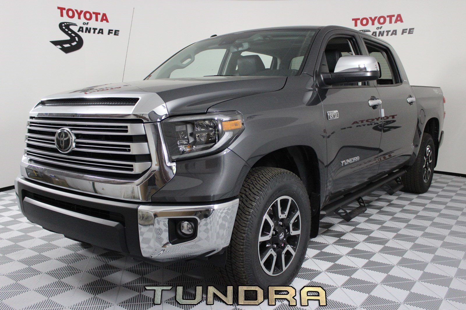 New 2019 Toyota Tundra Limited Crewmax 5 5 Bed 5 7l In Santa Fe