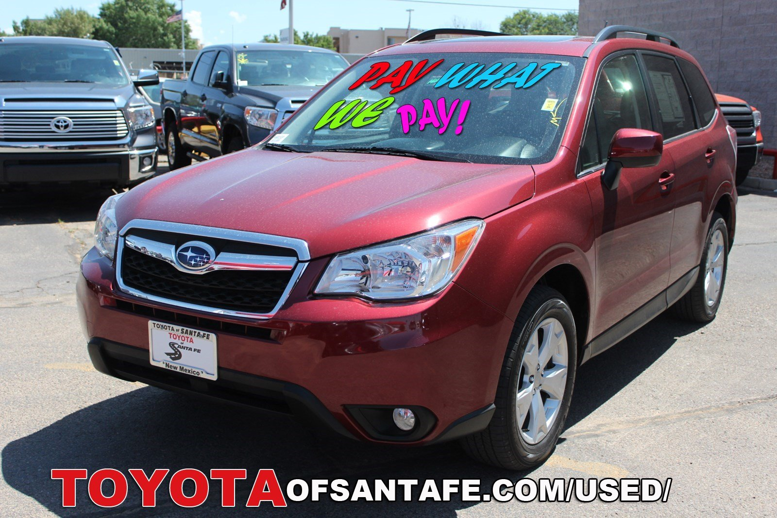 Pre-Owned 2015 Subaru Forester 2.5i Limited With Navigation & AWD  FH568353P