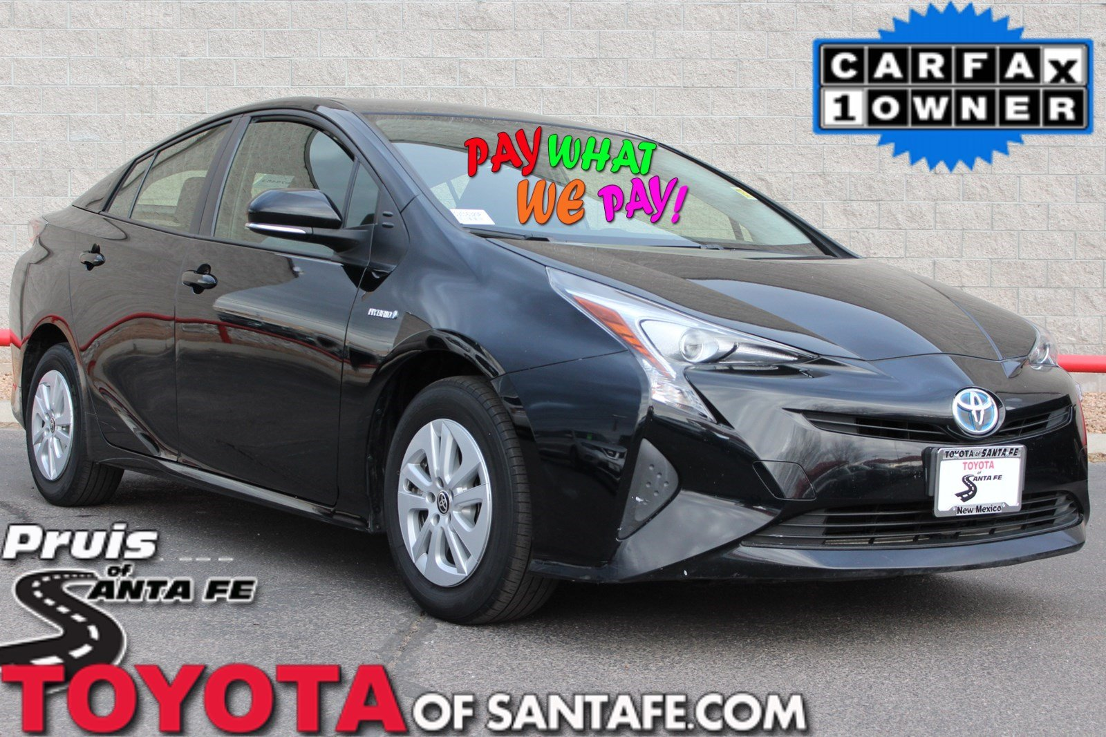 Pre-Owned 2016 Toyota Prius Two FWD Hatchback G3016320P