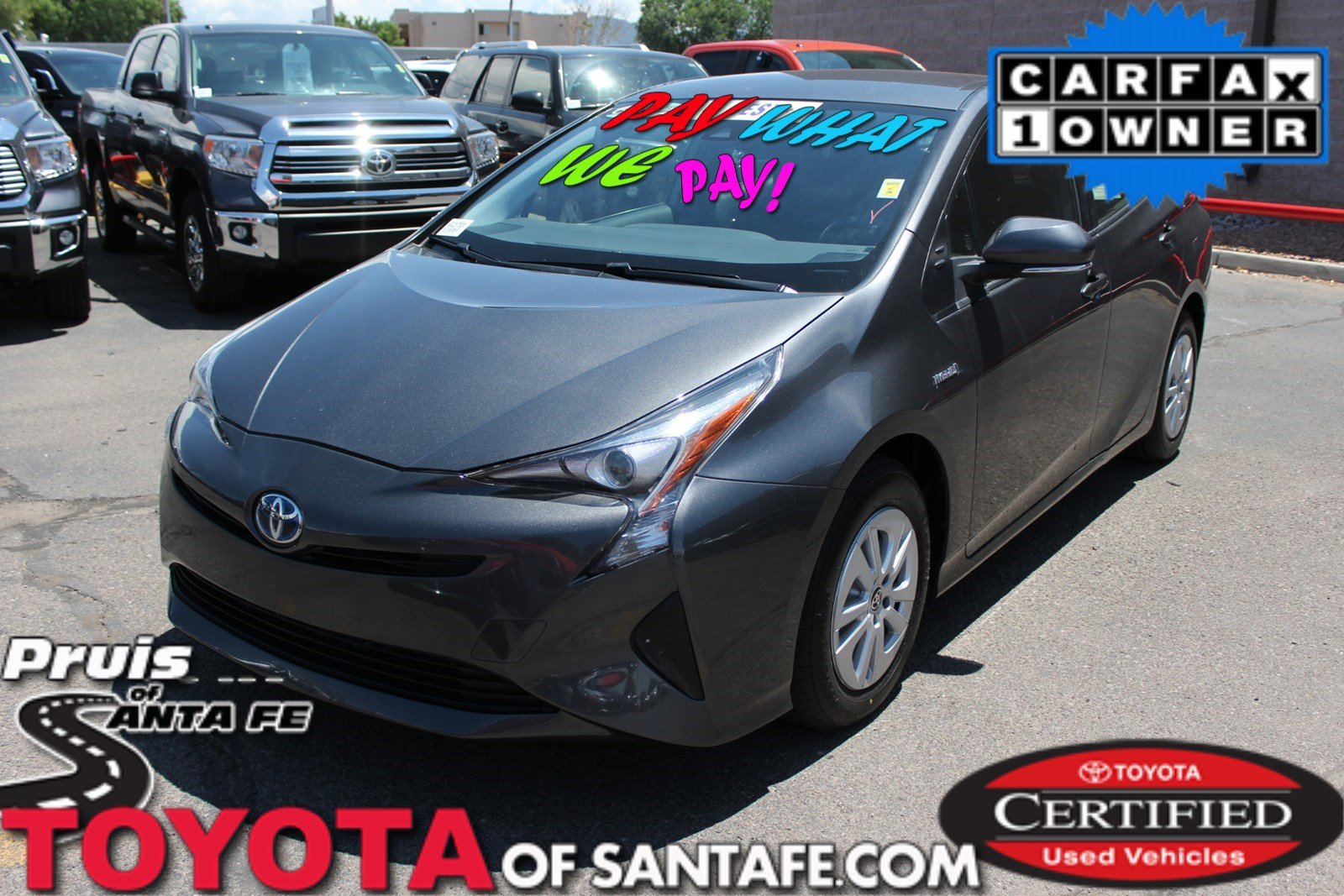 Certified Pre-Owned 2017 Toyota Prius Two FWD Hatchback  H3028780P
