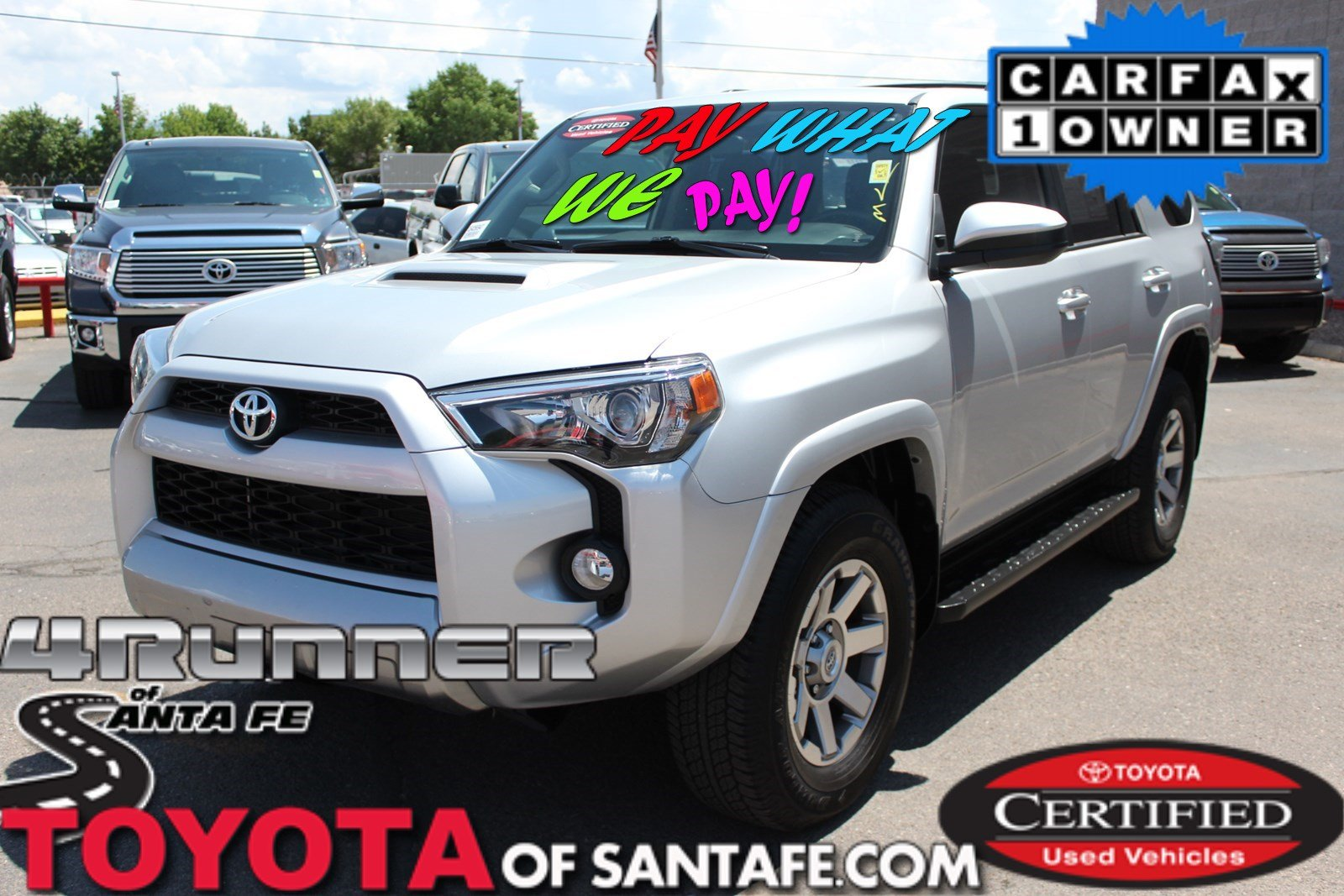 Certified Pre-Owned 2016 Toyota 4Runner Trail With Navigation & 4WD