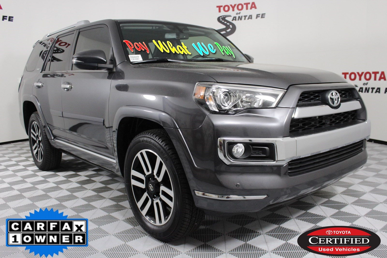 Certified Pre-Owned 2018 Toyota 4Runner Limited 4WD J5564845P