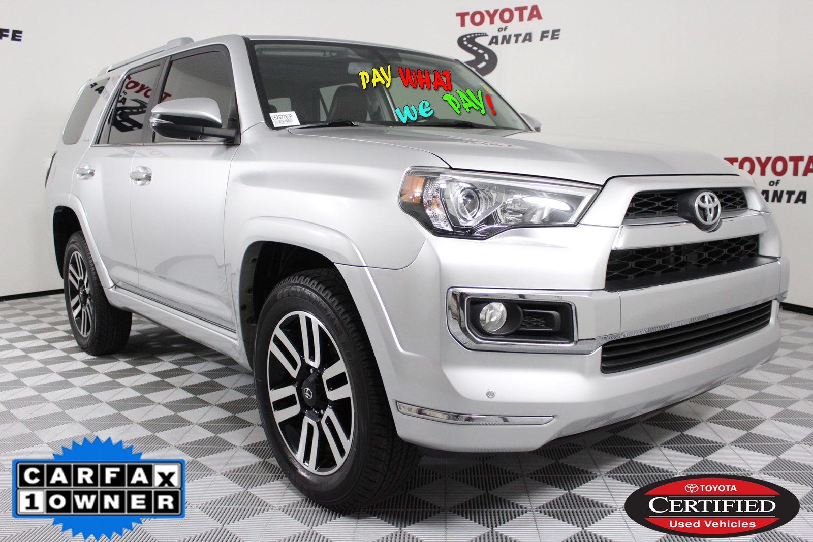 Certified Pre-Owned 2016 Toyota 4Runner Limited 4WD  G5297762P