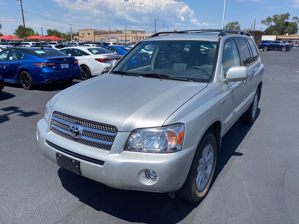 Pre-Owned 2007 Toyota Highlander Hybrid Limited w/3rd Row