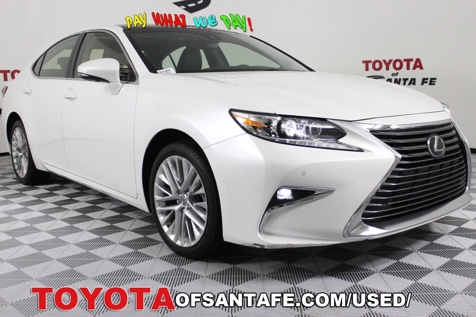 Pre-Owned 2016 Lexus ES 350 350 FWD Sedan G2243965T