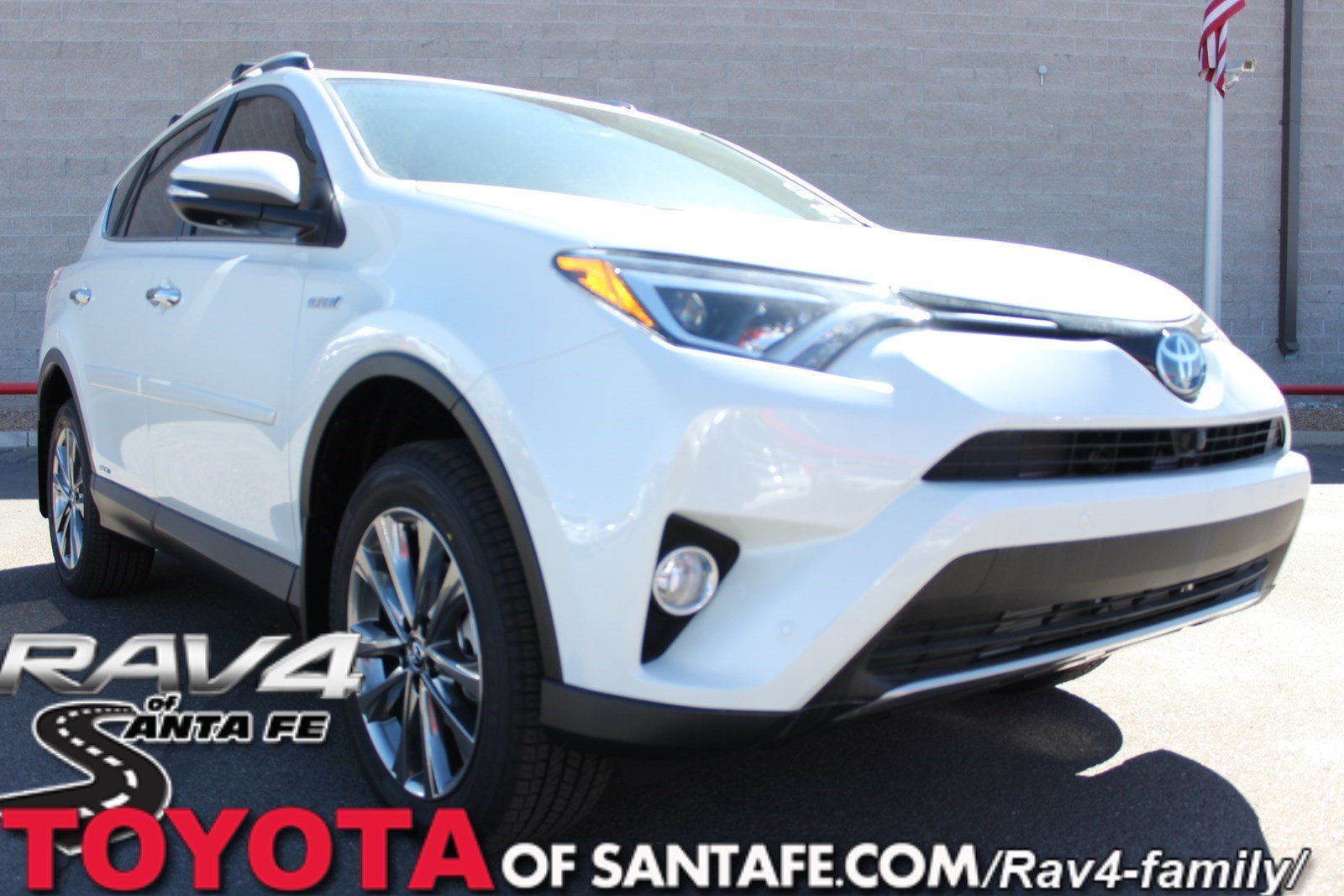 new 2018 toyota rav4 hybrid limited sport utility vehicle in santa