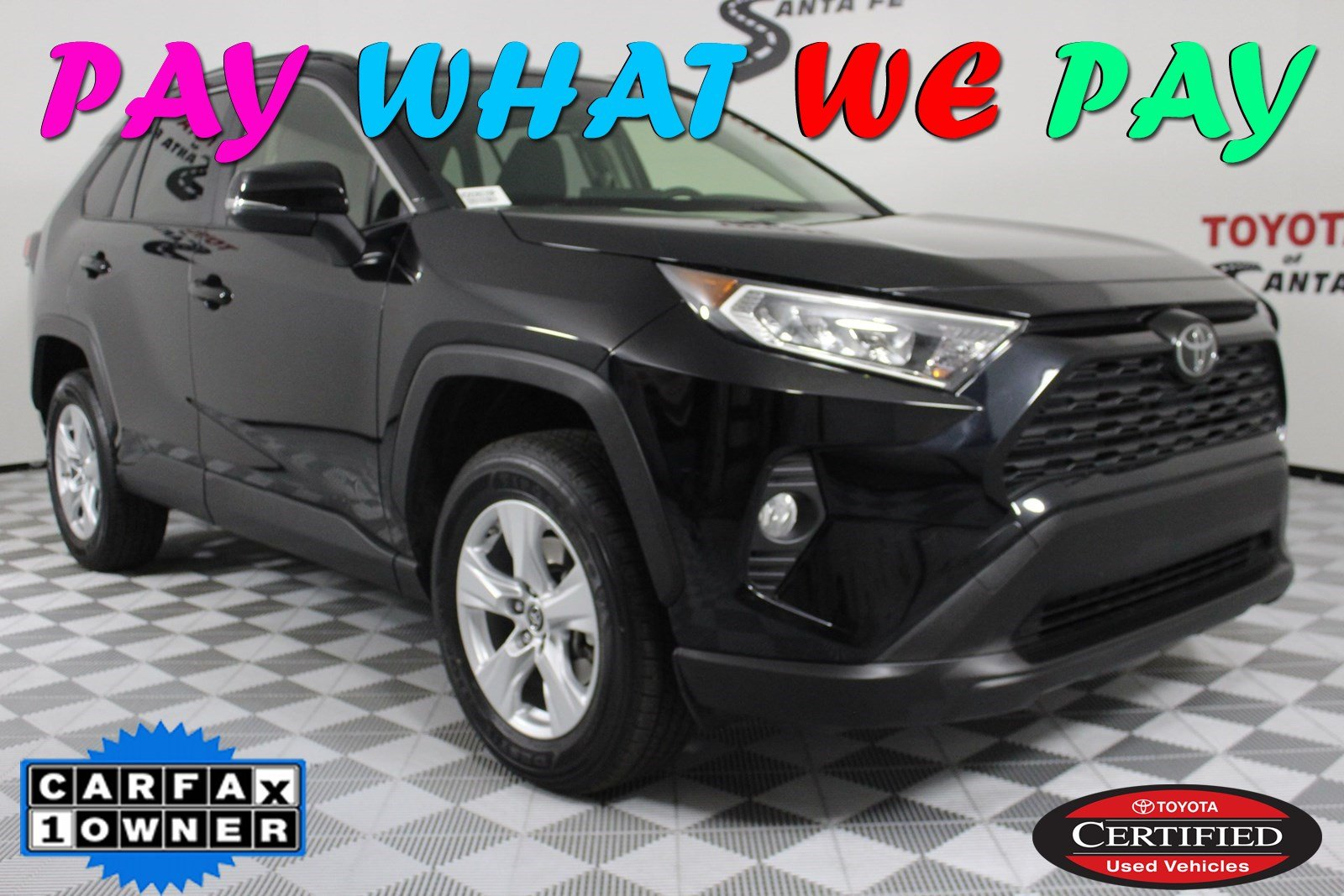 Certified Pre-Owned 2019 Toyota RAV4 XLE AWD KD506039P