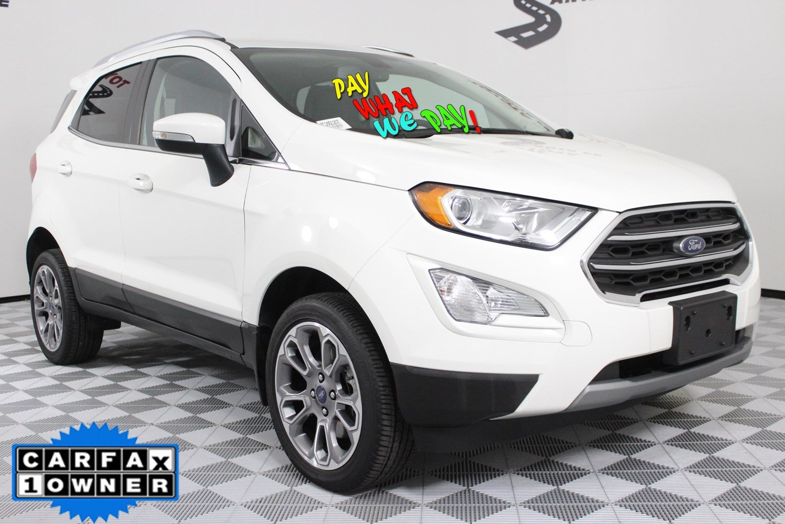 Pre-Owned 2018 Ford EcoSport Titanium With Navigation & 4WD