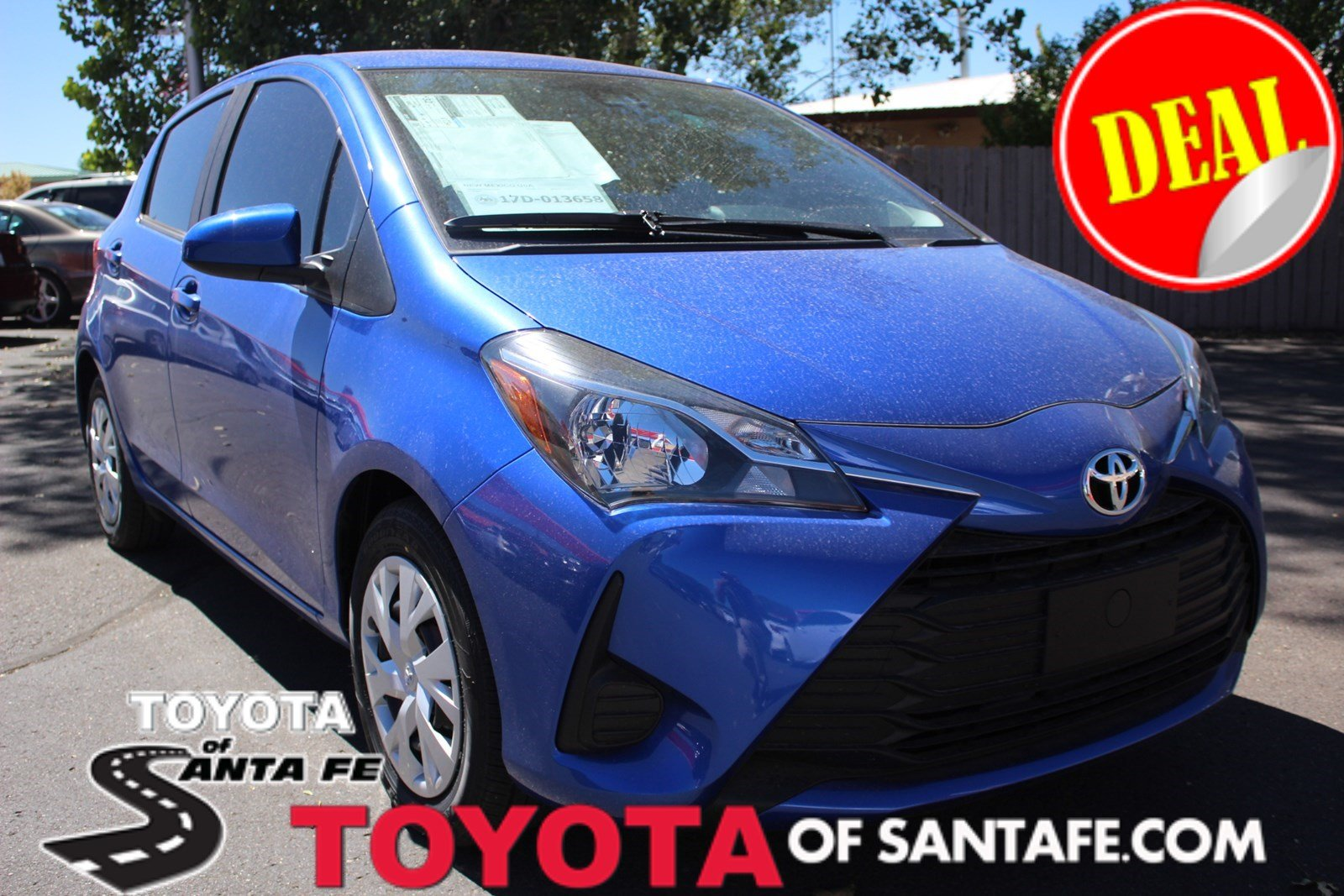 New 2018 Toyota Yaris 5-Door L Auto #JA088088
