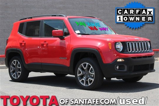 Pre-Owned 2016 Jeep Renegade Latitude 4WD  GPD21901T