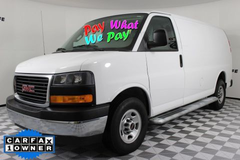 Pre-Owned 2017 GMC Savana Cargo Van Work Van