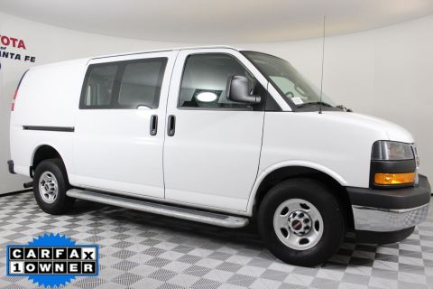 Pre-Owned 2018 GMC Savana Cargo Van Work Van