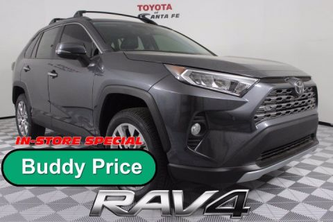 New 2020 Toyota RAV4 Limited AWD