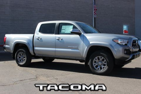 New 2018 Toyota Tacoma SR5 Double Cab 5' Bed V6 4x4 AT