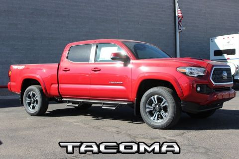 New 2018 Toyota Tacoma TRD Sport Double Cab 6' Bed V6 4x4 AT
