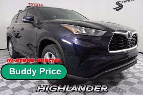 New 2020 Toyota Highlander L AWD