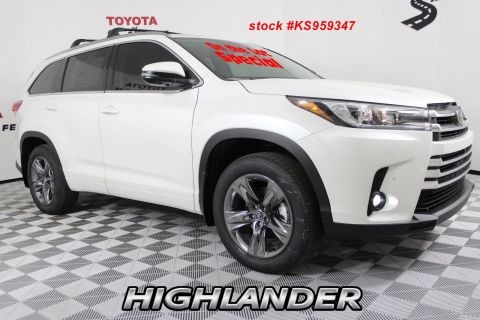 New 2019 Toyota Highlander Limited Platinum V6 AWD