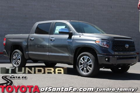New 2018 Toyota Tundra Platinum CrewMax 5.5' Bed 5.7L